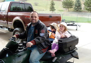 Four-wheelers: Dumb Dad of the Year Award