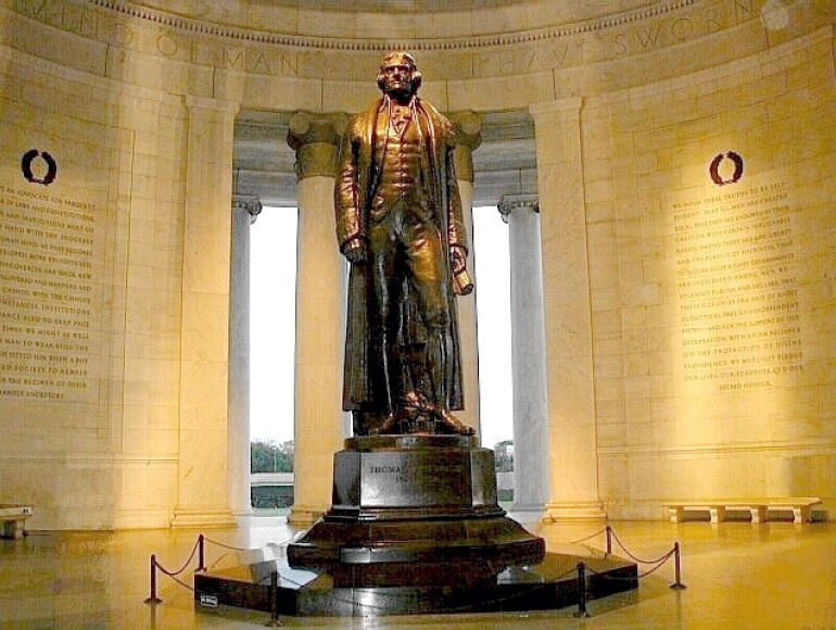 Now The Jefferson Memorial – The Glib Evil Involved in Betraying Jefferson