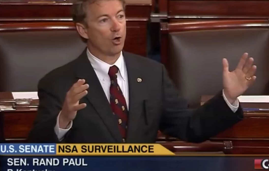 Sen. Rand Paul Speaks Out Against the PATRIOT Act – May 31, 2015 – YouTube